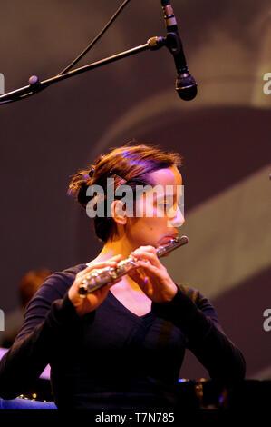 National Orchestra of Britanny plays Steve Reich, Rennes, Ille-et-Vilaine, France - Stock Photo