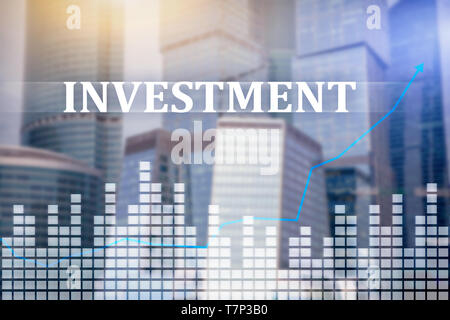 Investment, ROI, financial market concept. - Stock Photo