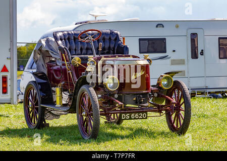 East Midland Steam & Country Show. Higham Ferrers Northamptonshire NN10 8LB - Stock Photo