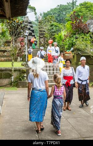 Indonesia, Bali, Center, Batukau Temple - Stock Photo