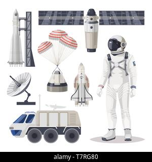 Space exploration, cosmos or Mars expedition item - Stock Photo