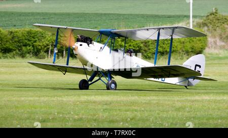 1928 de Havilland DH.60X Moth - Stock Photo