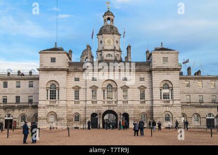 London, United Kingdom - December 19, 2018: Horse Guards Building in London, United Kingdom. - Stock Photo