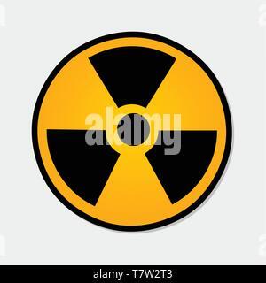 radiation symbol vector illustration - Stock Photo