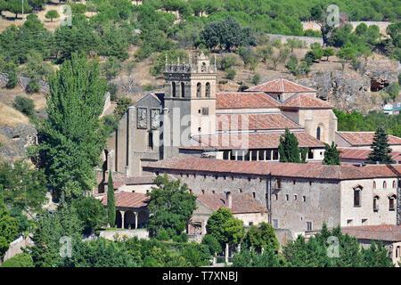 Monastery of Santa María del Parral, Monasterio de Santa María del Parral, Segovia, Castilla y León, Spain - Stock Photo