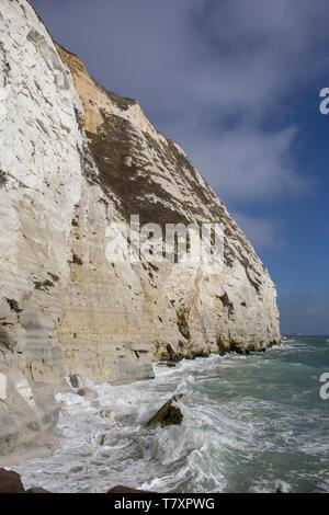 Shakespeare cliff - Stock Photo