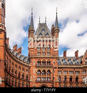 St. Pancras Renaissance Hotel, London, UK - Stock Photo
