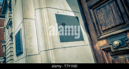 Government Office of the Department for International Trade, Whitehall, London, UK. - Stock Photo