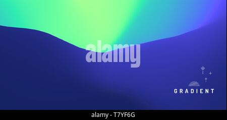 Abstract blurred background. Modern screen vector design for mobile app. Trendy gradients. - Stock Photo
