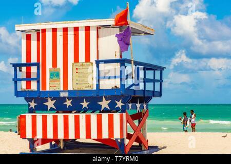 United States, Florida, Miami, Miami Beach, beach