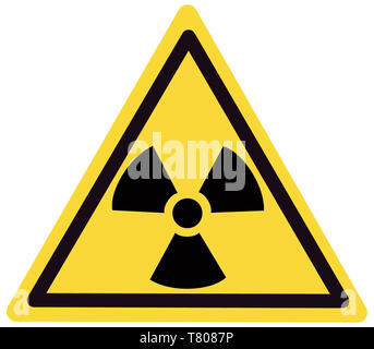 Radiation Sign, Illustration - Stock Photo