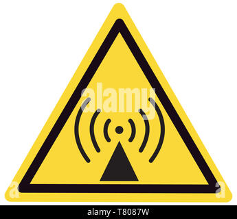 Radio Waves Sign, Illustration - Stock Photo