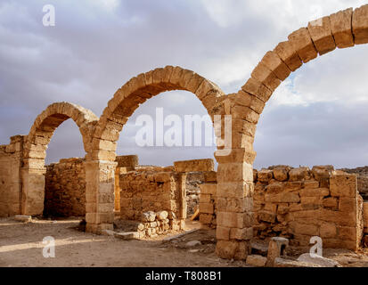 Umm ar-Rasas Ruins, UNESCO World Heritage Site, Amman Governorate, Jordan, Middle East - Stock Photo