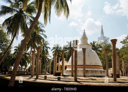 Ambasthale Dagoba, Mihintale, North Central Province, Sri Lanka, Asia - Stock Photo