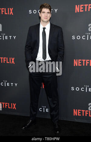 Los Angeles, California, USA. 09th May, 2019. Pictured: Spencer House Netflix - The Society Season 1 Premiere - Arrivals 5/9/19, Los Angeles, California, United States of America Credit: Broadimage Entertainment/Alamy Live News - Stock Photo
