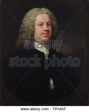 William-Hogarth-Dr Benjamin Hoadly, MD - Stock Photo