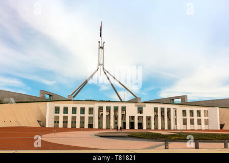 Parliament House, Canberra was opened on 9 May 1988 by Elizabeth II, it cost more than A$1.1 billion to build.