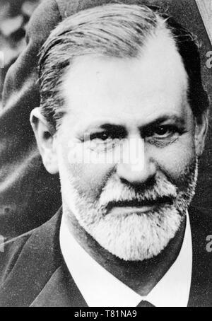 Sigmund Freud, Father of Psychoanalysis - Stock Photo