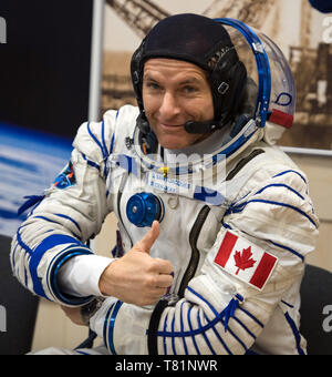 Astronaut David Saint-Jacques, ISS Expedition 58 - Stock Photo