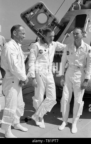Apollo 11 Prime Crew, 1969 - Stock Photo