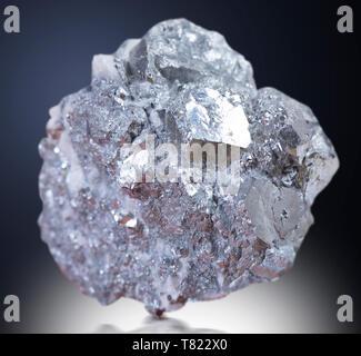 galena mineral rock gem stone quartz  geology specimen - Stock Photo