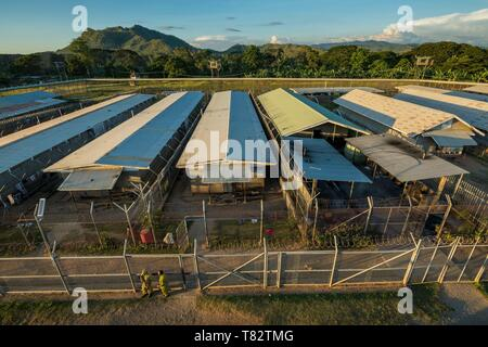 Papua New Guinea, Gulf of Papua, National Capital District, Port Moresby City, Bomana Prison, Maximum Security Area - Stock Photo