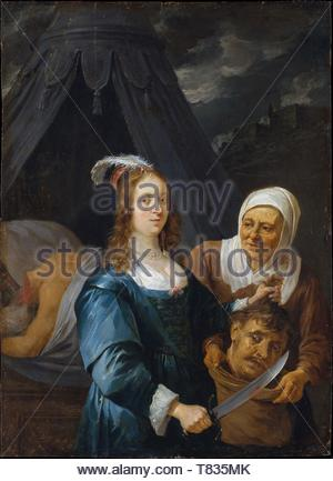 David Teniers the Younger-Judith with the Head of Holofernes - Stock Photo