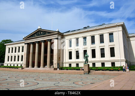 University, The Faculty of Law, Oslo, Norway, Scandinavia, Europe - Stock Photo