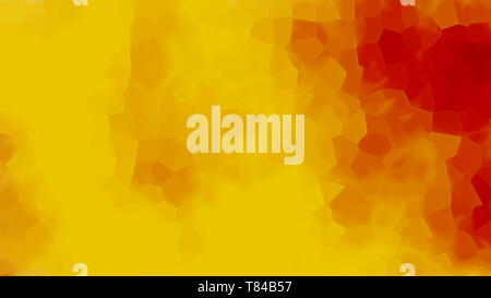 Computer generated abstract bright yellow background with particles, 3d render backdrop - Stock Photo