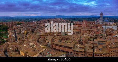 VIew of Siena. Tuscany, Italy.