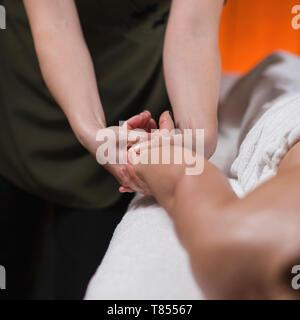 Arm Sports Massage Therapy - Stock Photo