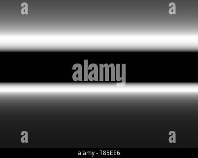 Abstract modern metallic gradient black gray color brushed, advertising glossy background - Stock Photo