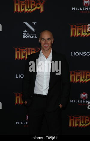 'HELLBOY' NY Special Screening held at AMC Lincoln Square  Featuring: Douglas Where: New York City, New York, United States When: 09 Apr 2019 Credit: Derrick Salters/WENN.com - Stock Photo