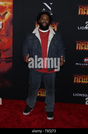 'HELLBOY' NY Special Screening held at AMC Lincoln Square  Featuring: guest Where: New York City, New York, United States When: 09 Apr 2019 Credit: Derrick Salters/WENN.com - Stock Photo