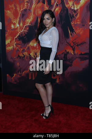 'HELLBOY' NY Special Screening held at AMC Lincoln Square  Featuring: Ana Where: New York City, New York, United States When: 09 Apr 2019 Credit: Derrick Salters/WENN.com - Stock Photo