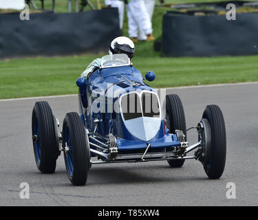 Rob Newall, Maserati 8CM, Parnell Cup, Grand Prixcars, Voiturette cars, 1935 to 1953, 77th Members Meeting, Goodwood, West Sussex, England, April 2019 - Stock Photo