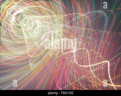 Abstract helical pattern, illustration - Stock Photo