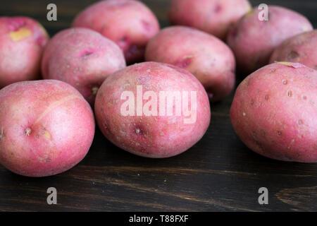 Baby Red Potatoes - Stock Photo