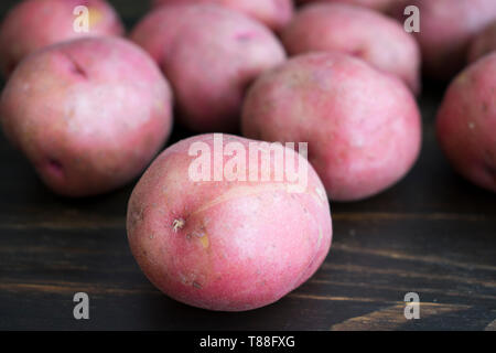 Baby Red Potatoes - Stock Photo