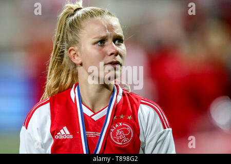 ROTTERDAM, 11-05-2019 ,Woudestein, Eredivisie Women, Ajax - PEC Zwolle (women KNVB cupfinal) , season 2018 / 2019,  Ajax player Kika van Es during the match Ajax - PEC Zwolle (women KNVB cupfinal) - Stock Photo