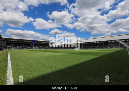 London, UK. 12th May, 2019.    General View of Craven Cottage  during the Premier League match between Fulham and Newcastle United at Craven Cottage, London on Sunday 12th May 2019. Credit: MI News & Sport /Alamy Live News - Stock Photo