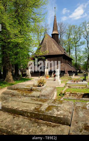 Broumov,Church of the Blessed Virgin Mary in Broumov (cz. Kostel svaté Panny Marie) - also known as 'Pod lipami', - Stock Photo