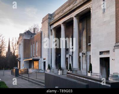 UK, England, London, Stoke Newington Town Hall