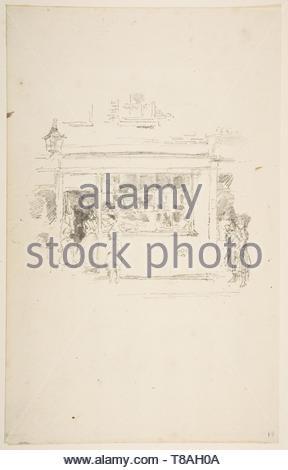 James McNeill Whistler-Drury Lane Rags - Stock Photo