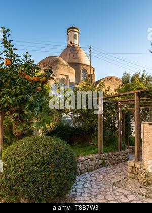 Chiesa di Santa Sofia, Anacapri, Italy - Stock Photo