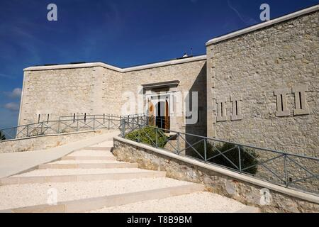 France, Var, Toulon, Mont Faron, D-Day and Liberation Memorial in Provence, the Beaumont tower, museum - Stock Photo