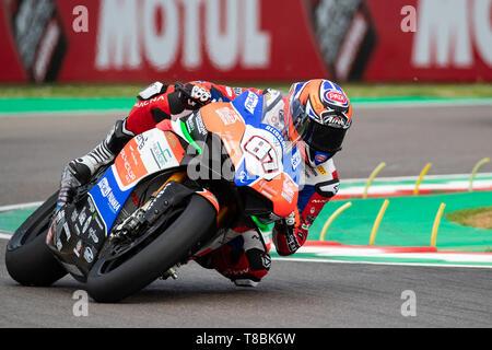 WorldSBK Superbike championship weekend in the italian circuit of Imola Dino and Enzo Ferrari - Stock Photo