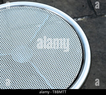 Stainless steel mesh surface - Stock Photo