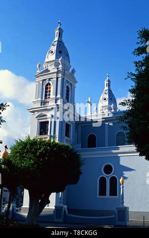 Parroquia Nuestra Senora de Guadalupe,Ponce,Puerto Rico - Stock Photo