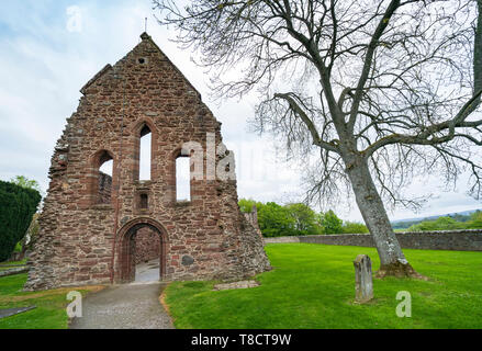 Exterior of Beauly Priory in Beauly Inverness-shire, on the North Coast 500 scenic driving route in northern Scotland, UK - Stock Photo